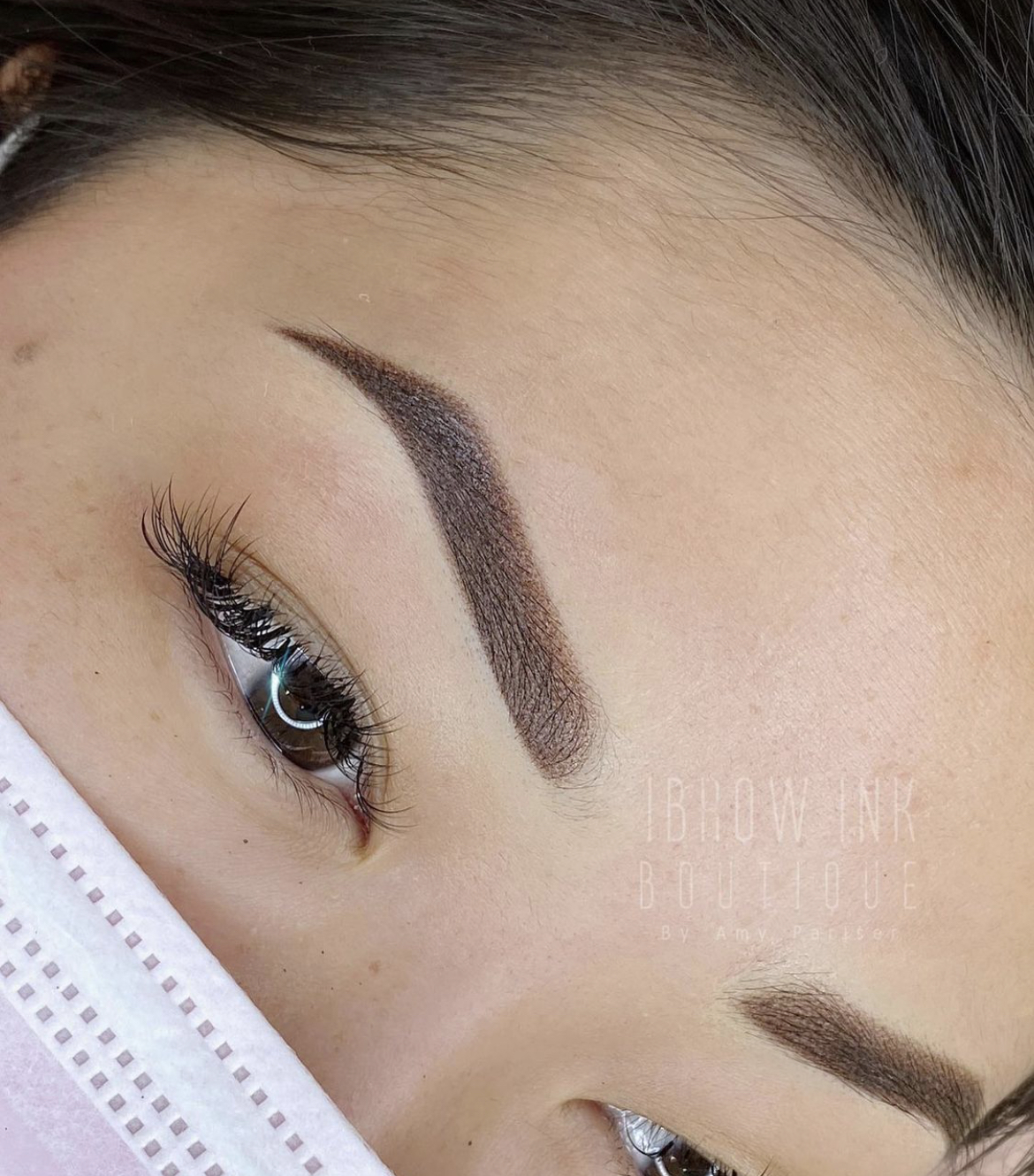 Finished Ombré Brows