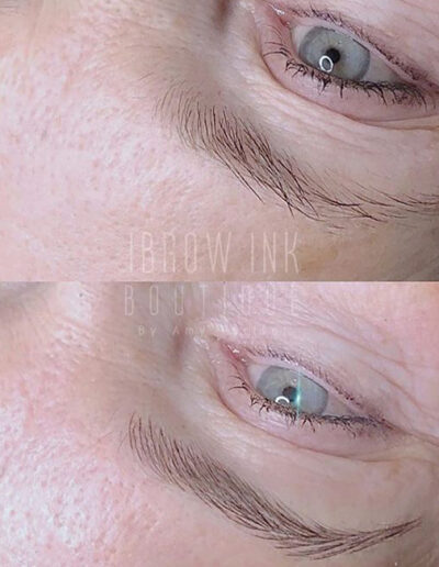 Microblading before and after pic